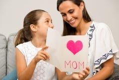 Jour du `s de mère Photos stock