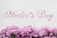 Jour du ` s de mère - fleurs Photos libres de droits