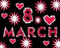 Jour du ` s de mère, le 8 mars Photos stock