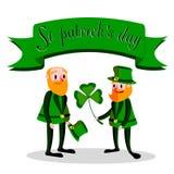 Jour du ` s de St Patrick Image libre de droits