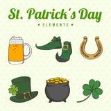 Jour du ` s de St Patrick Photos libres de droits