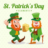 Jour du ` s de St Patrick Photo stock