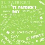 Jour du ` s de St Patrick Illustration de vecteur ENV 10 illustration libre de droits