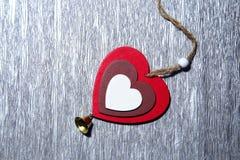 Jour du ` s de St Valentine, amour, Noël, nouvelle année Un multicolore Photographie stock
