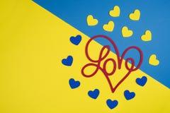 Jour du `s de Valentine Photo stock