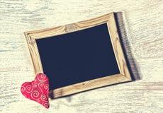 Jour du ` s de Valentine, coeur, vue, amour, date, félicitation, Mothe Photos libres de droits