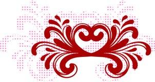 Jour du ` s de Valentine d'amour Art de bruit Photos stock