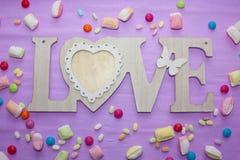 Jour du ` s de Valentine d'histoires d'amour Image stock