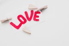 Jour du ` s de Valentine de carte postale Photographie stock libre de droits