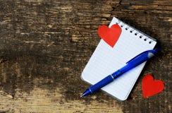 Jour du `s de Valentine Fond Photographie stock libre de droits