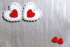 Jour du ` s de Valentine, mariage, amour OE lumineux à jour et rouge blanc Photo libre de droits