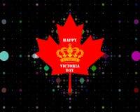Jour du ` s de Victoria dans le Canada Photos stock