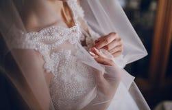 Jour du soleil de mariage Photos stock