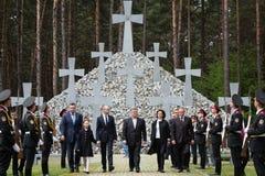 Jour du souvenir des victimes de la répression politique Images stock
