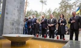 Jour du souvenir des victimes de la répression politique Image stock