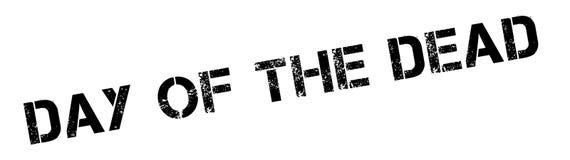 Jour du tampon en caoutchouc mort Photos libres de droits