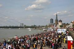 Jour Dusseldorf du Japon Photos libres de droits