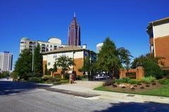 Jour ensoleillé à Atlanta, GA. Image libre de droits