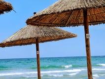 Jour ensoleillé à la plage Photographie stock libre de droits