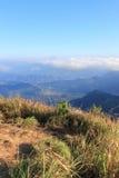 Jour ensoleillé au Chi fa de Phu Photo stock
