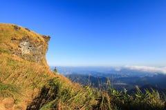 Jour ensoleillé au Chi fa de Phu Image libre de droits