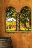 Jour ensoleillé d'automne dans Napa Valley images stock