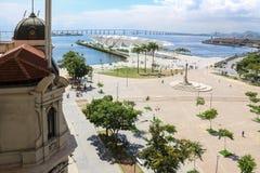Jour ensoleillé d'automne en Rio de Janeiro Images stock