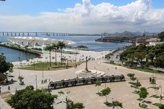Jour ensoleillé d'automne en Rio de Janeiro Photo stock