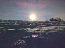 Jour ensoleillé d'hiver Image stock
