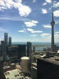 Jour ensoleillé de l'été 2017 de Toronto Photo libre de droits