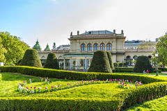 Jour ensoleillé de Vienne au printemps, Autriche Images libres de droits