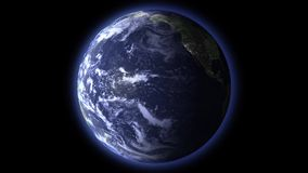 Jour et nuit sur terre
