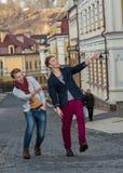 Jour gai des frères jumeaux Photo libre de droits