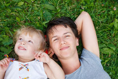 Jour gratuit ensemble Image libre de droits