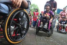 Jour handicapé image libre de droits