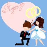Jour heureux Image stock