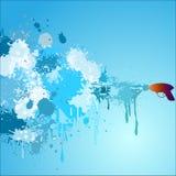 Jour heureux abstrait de StPatrick Image libre de droits
