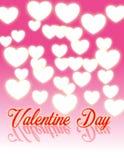 Jour heureux Backgroud de Valetine Photo libre de droits