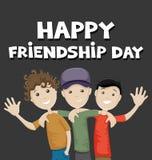 Jour heureux d'amitié Photo libre de droits