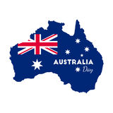 Jour heureux d'Australie Photo libre de droits
