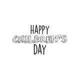 Jour heureux d'enfants Image libre de droits