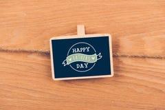 Jour heureux de father´s Images libres de droits