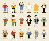Jour heureux de grands-parents Photos libres de droits
