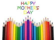 Jour heureux de mother?s Image libre de droits