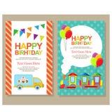 Jour heureux de naissance Image libre de droits