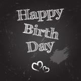 Jour heureux de naissance Photographie stock