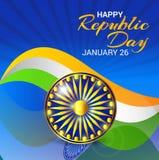 Jour heureux de République Images libres de droits