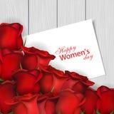 Jour heureux du ` s de femmes Photo stock