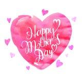 Jour heureux du `s de mère Photo stock