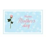 Jour heureux du `s de mère Photos libres de droits